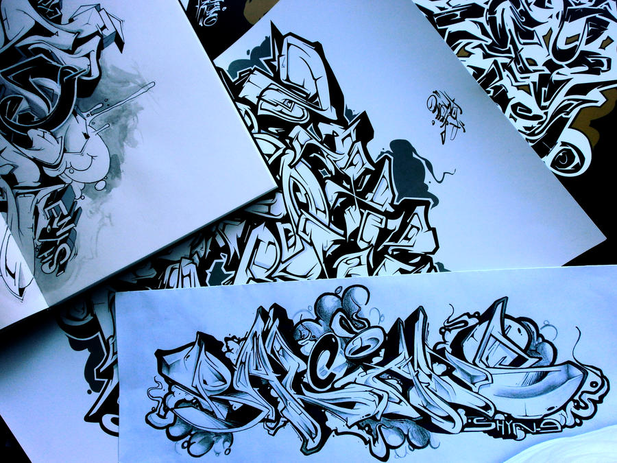 Extreme Lettering by Shyne1