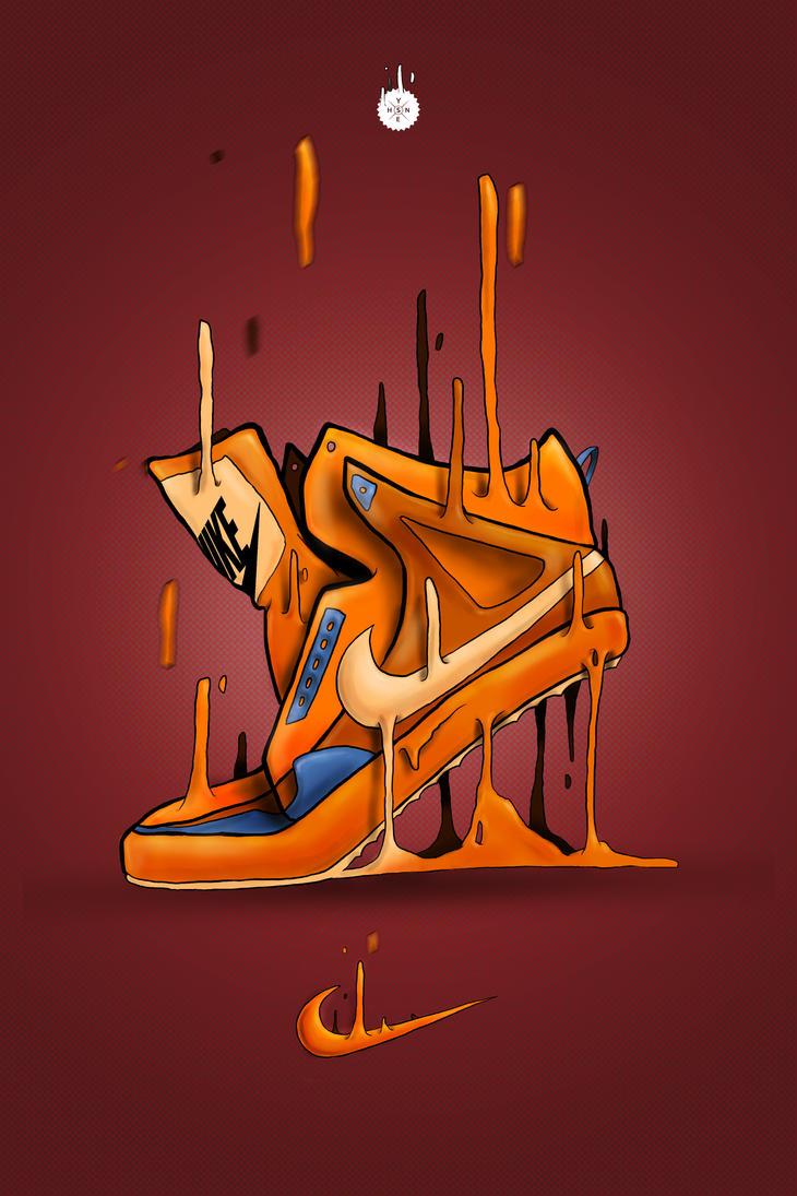 Nike Alphaballer Illustration by Shyne1