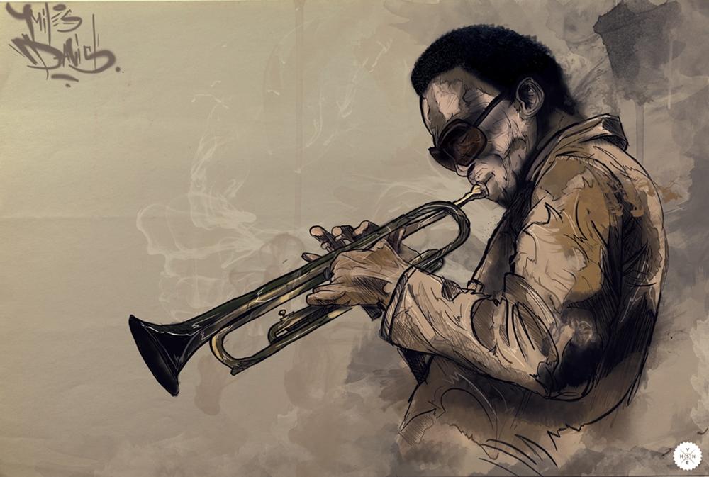 Miles Davis by Shyne1
