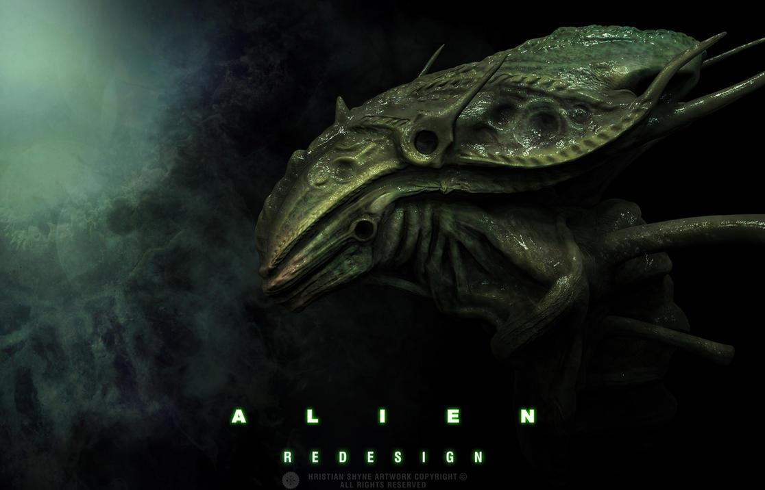Alien Redesign by Shyne1