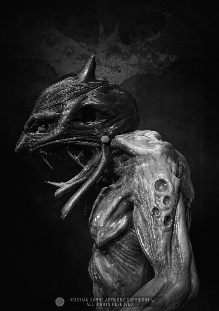 Vampire Batman Redesign by Shyne1
