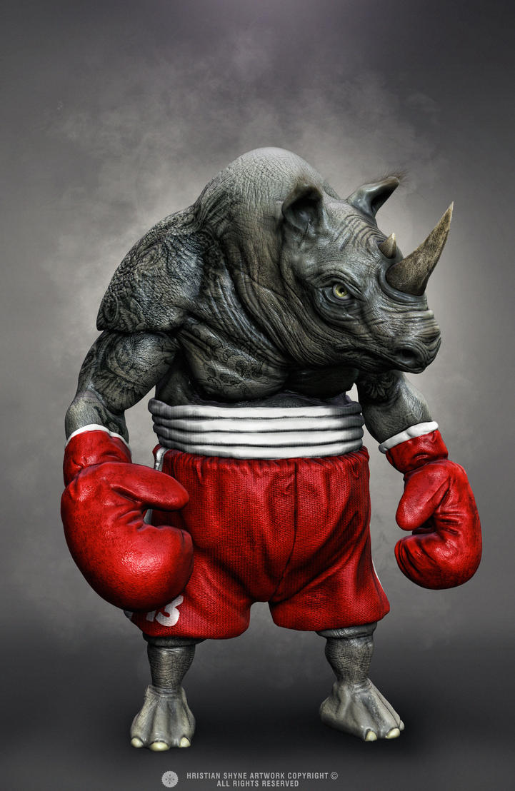 Floyd The Rhino by Shyne1