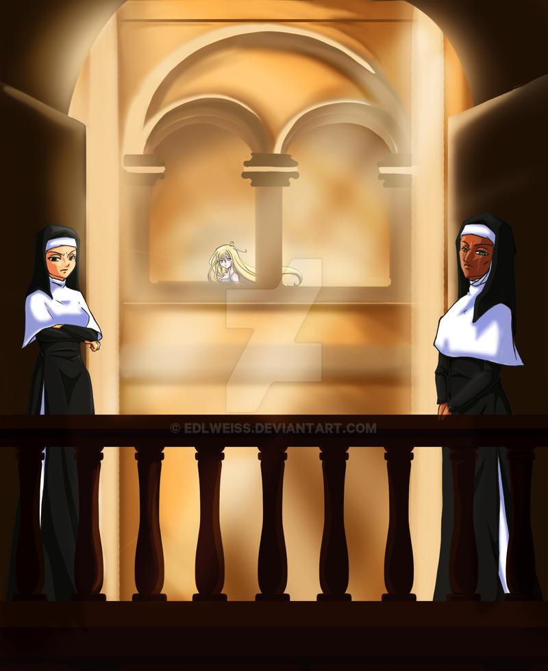 Sous-le-regard-des-nonnes by Edlweiss