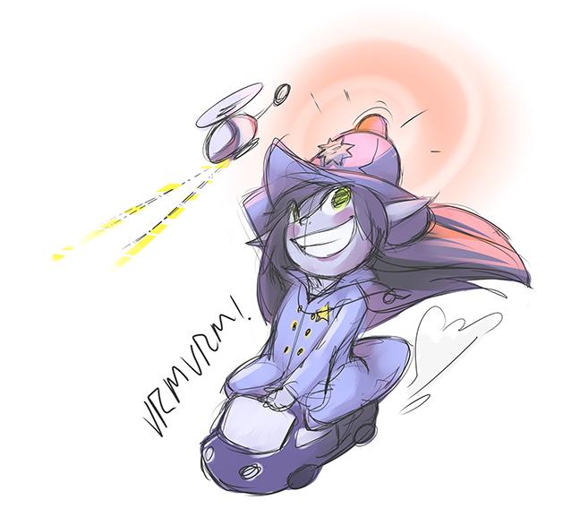 Police Officer Lulu , Skin Idea Fanart ! by Keekoi