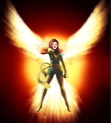 X-men:Phoenix by kuro-art