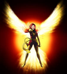 X-men: Dark Phoenix by kuro-art