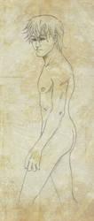 Nude Kvothe v3 by kuro-art