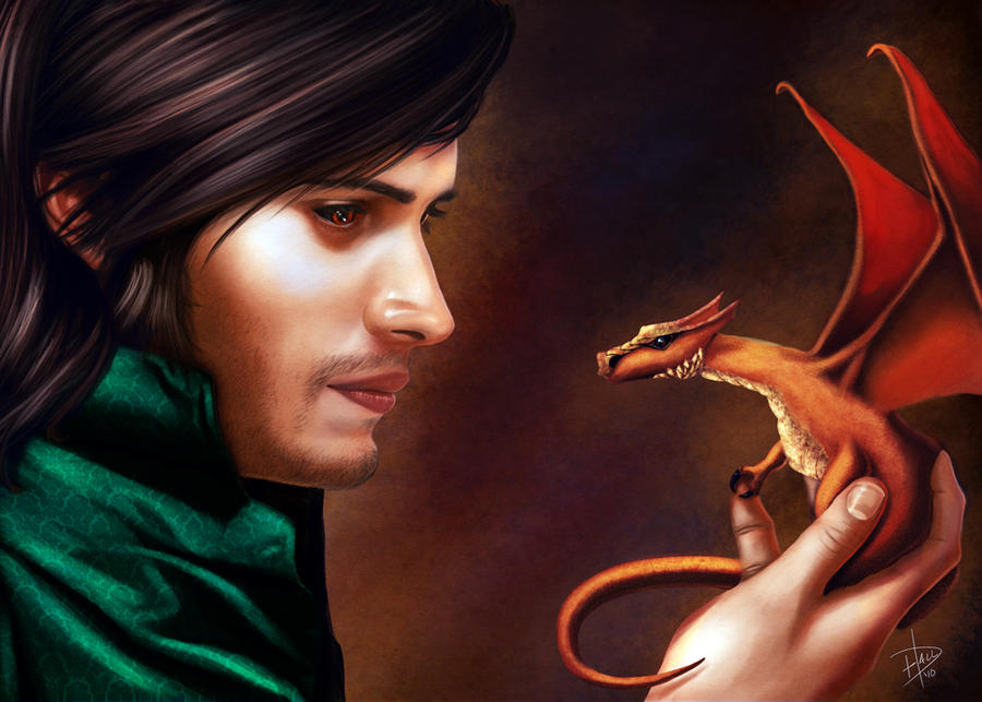 Vladin and the baby dragon. by edhall