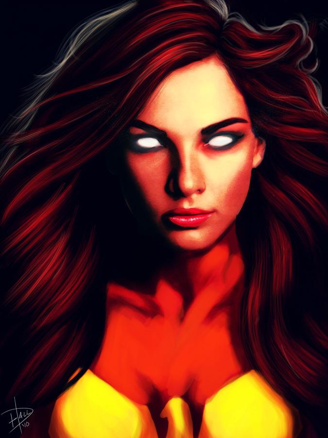 Jean Grey - Phoenix by edhall