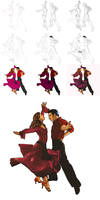Dancers - A process