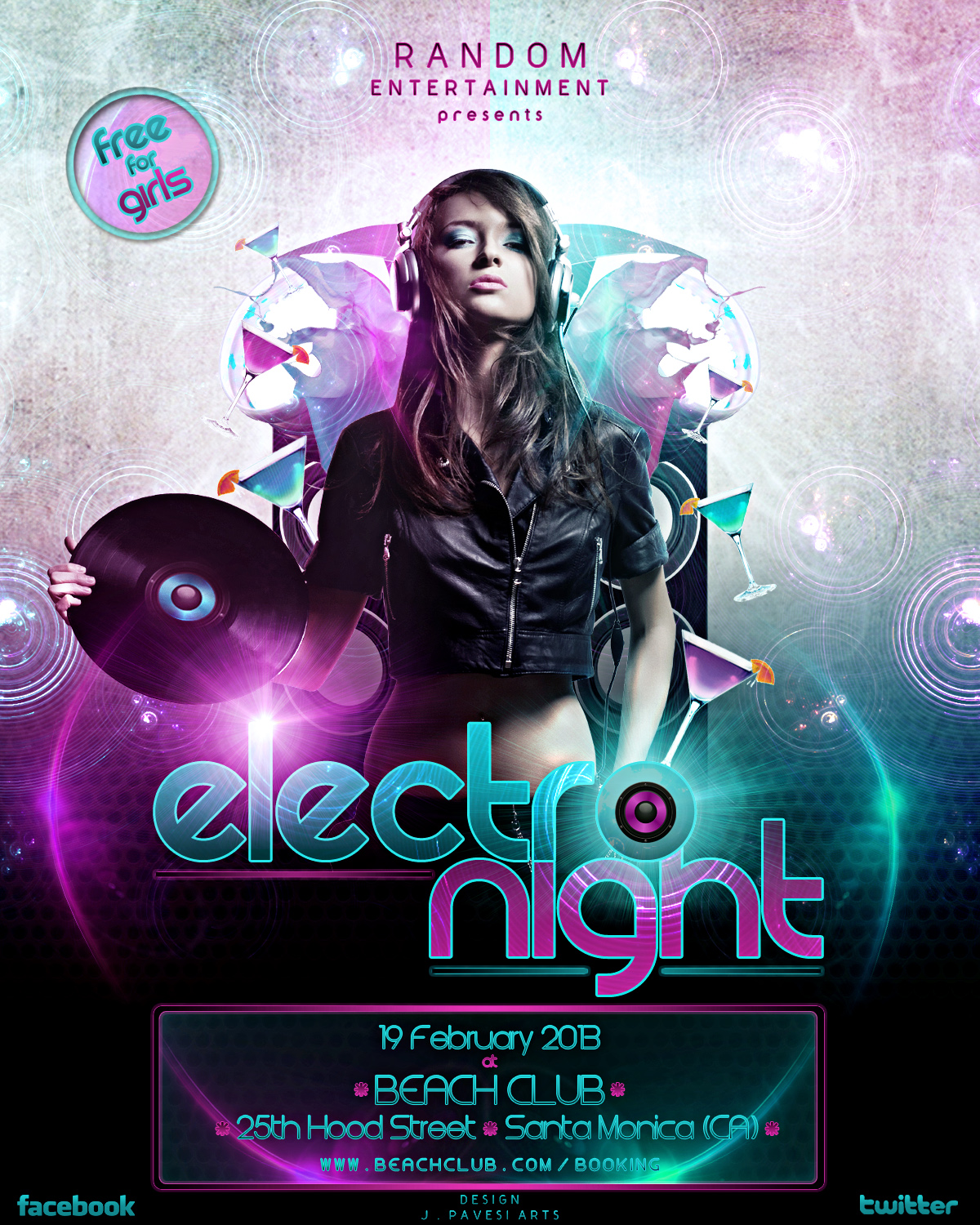 FLYER Electro Night by HanniBawL on DeviantArt – Electro Flyer