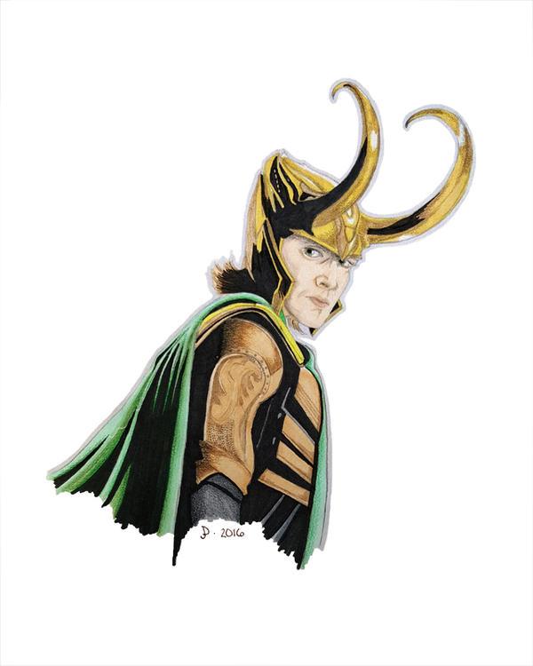 Week 5: Loki by jdrainville