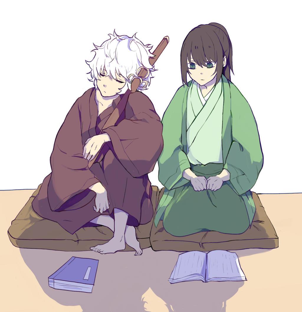 Gintama Katsura: Gintoki And Katsura By LareOne On DeviantArt