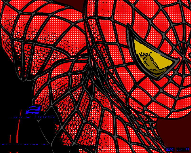 Spiderman pop art - photo#24