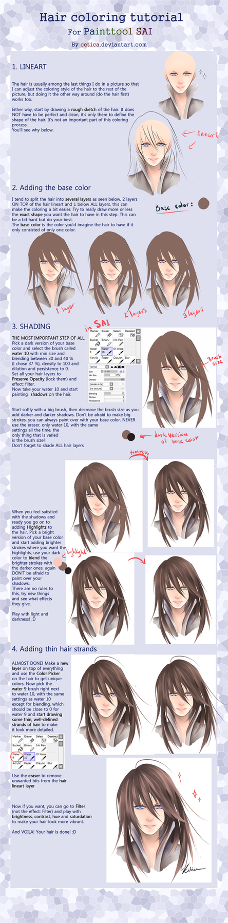 hair coloring tutorial for paint tool sai by circet on deviantart coloring on surface pro coloring on canvas