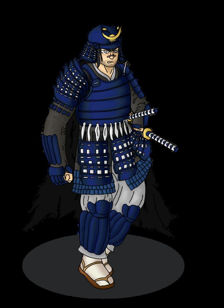 Blue Lotus Samurai by Lord-Varian