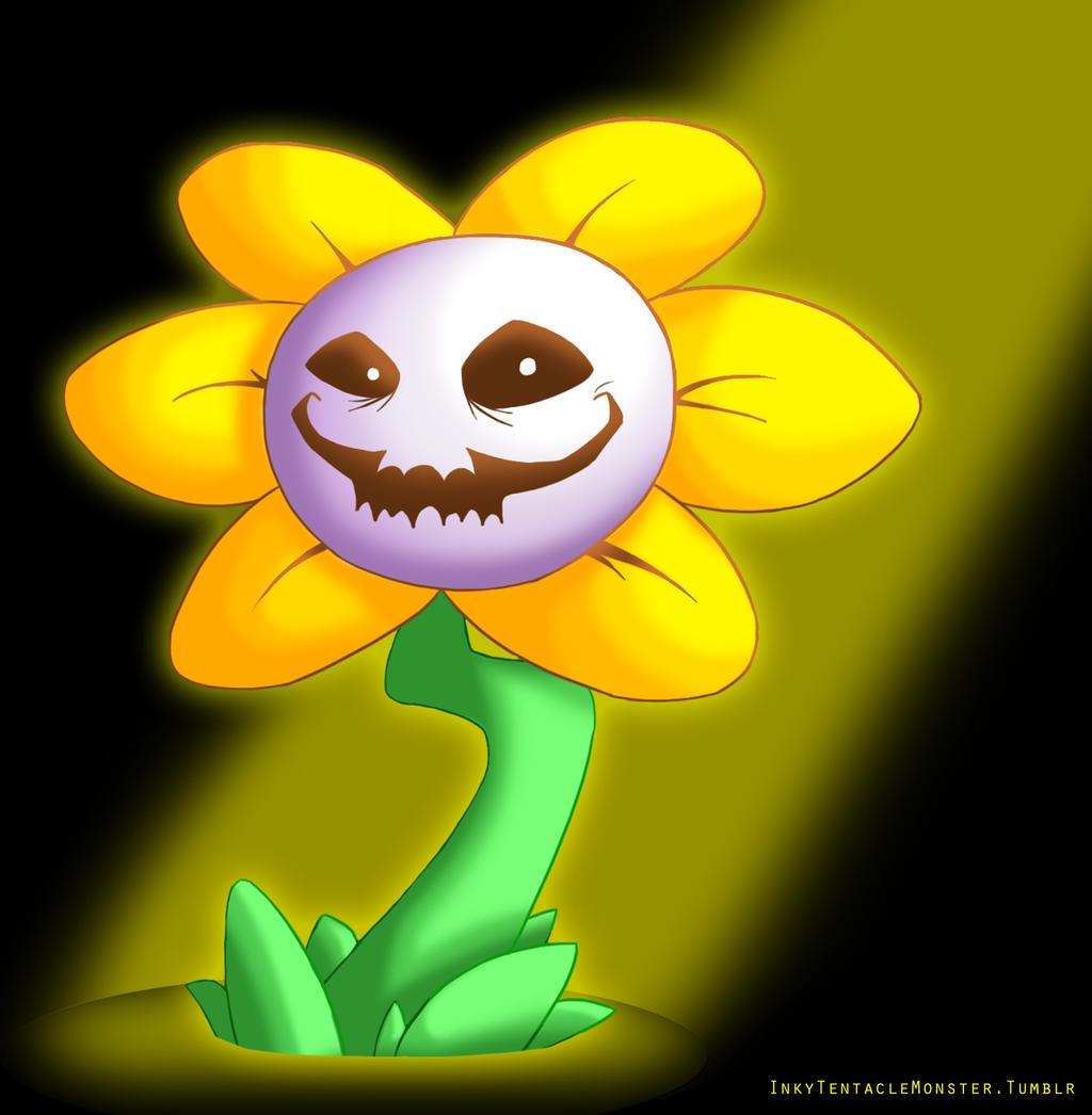 Flowey The Flower By InkyTentacleMonster On DeviantArt