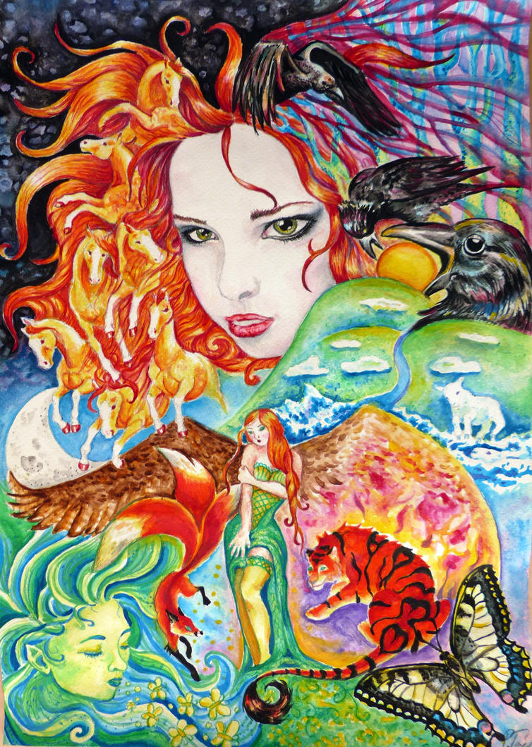 The pale lady by Hikari-kirin