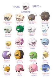 Wooloo Pokemon Variant