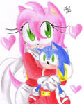 Amy Rose and Sonic Doll