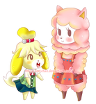 Isabelle and Reese