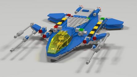 LL-120 Light Fighter Landed