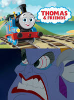 Ursula is Not Happy with the Thomas Reboot