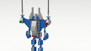 Classic Space Giant Robot Jet Pack