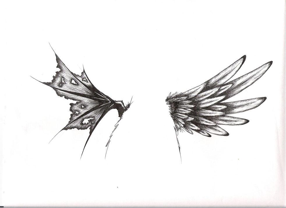 tattoo wings by lildevilmomoko on deviantart. Black Bedroom Furniture Sets. Home Design Ideas