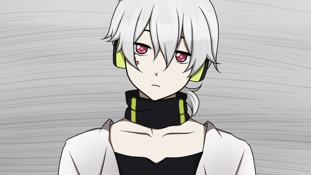 Line Art Anime : Mekakucity actors konoha lineart colored by rascalby on deviantart