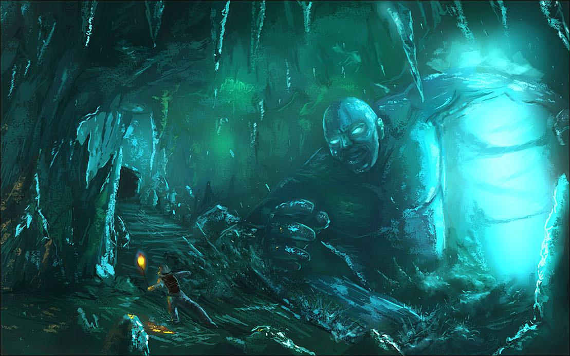Ice Cave ver 3 by Mondiro00