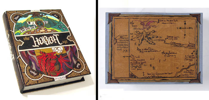 The Hobbit 3.0 hideaway book box