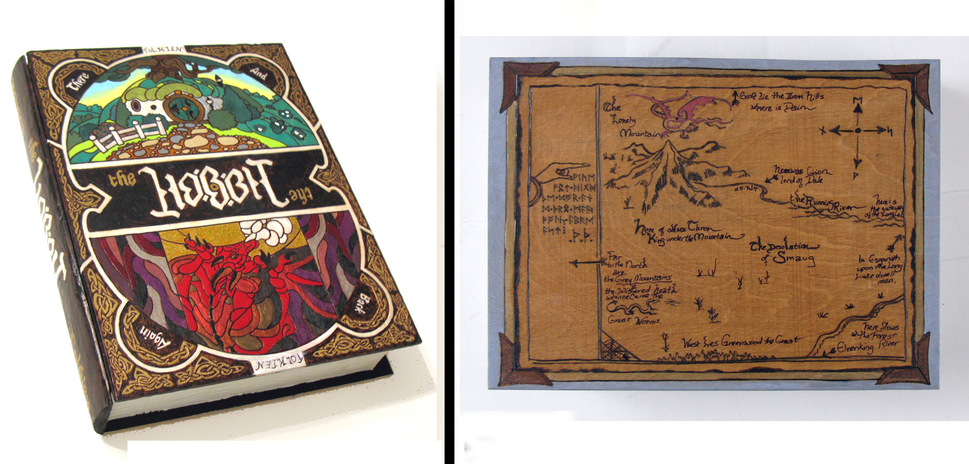 The Hobbit 3.0 hideaway book box by RFabiano