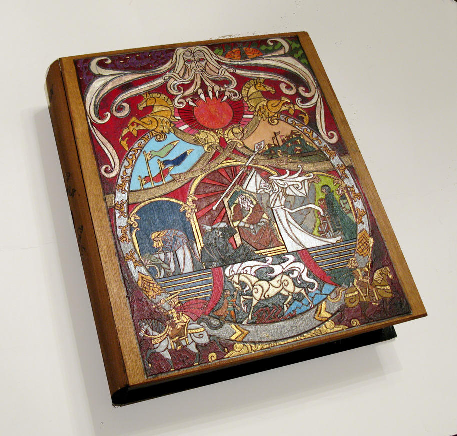 King of the Golden Hall - oversized book box by RFabiano