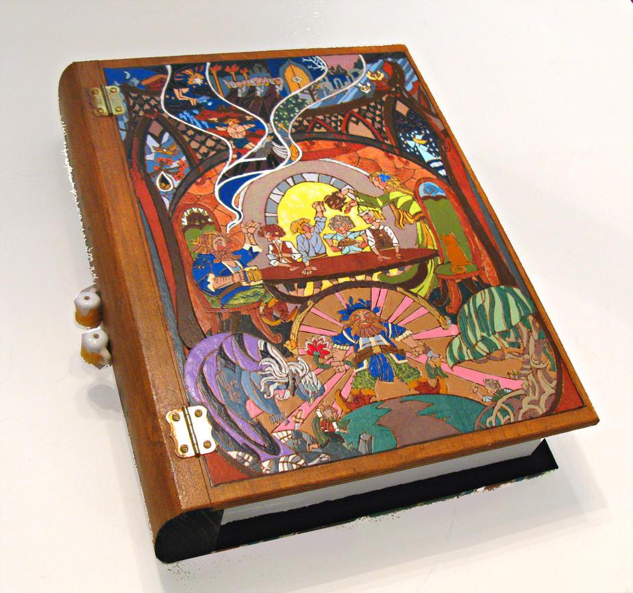 Tom Bombadil - finished oversized book box by RFabiano