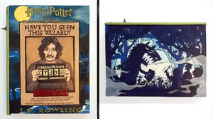 Harry Potter:Prisoner of Azkaban hideaway book box