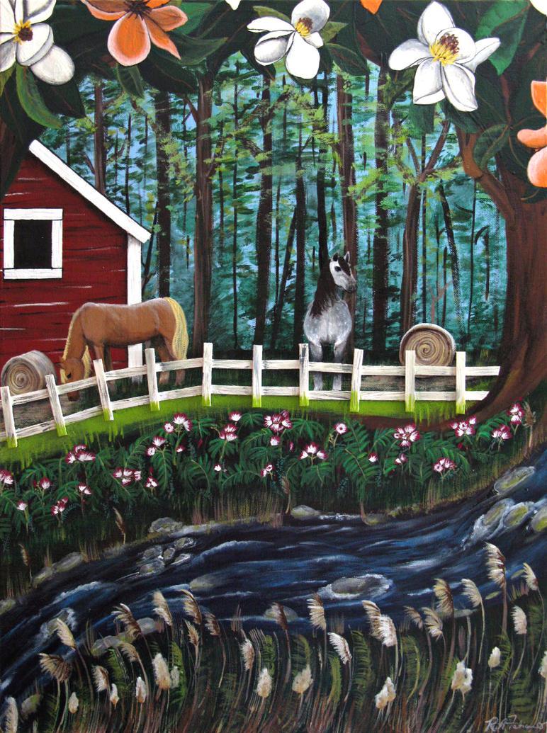 The Horse Farm by RFabiano