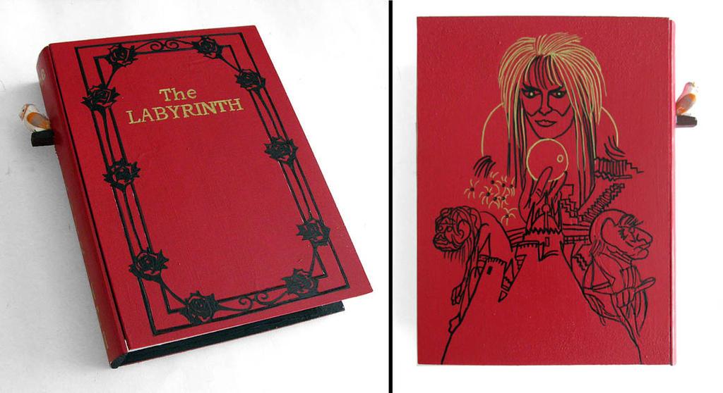 Labyrinth- hideaway book box by RFabiano