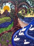 The Bonny Swans by RFabiano