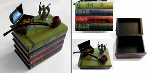 Tolkien Enthusiast book stack box by RFabiano