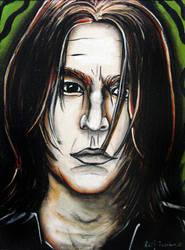 Young Severus Snape portrait - Dark Horse series
