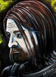 Boromir - portrait, Dark Horse series