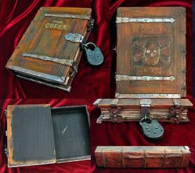 Pirata Codex- book box, Pirates of the Caribbean