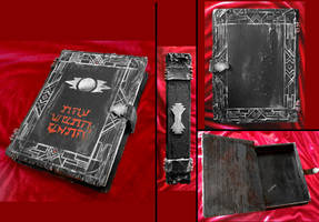 The Sith Path - ancient text, book box