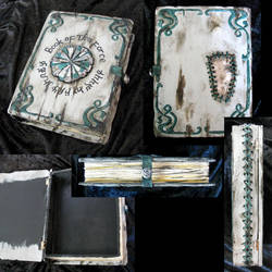 Book of the Force - ancient text, book box