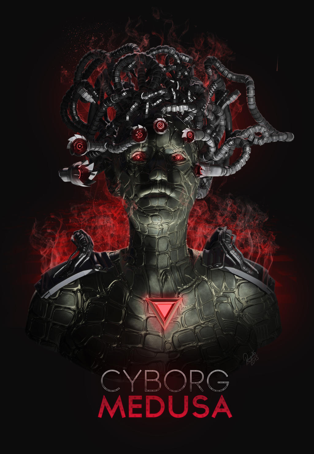 Cyborg Medusa by ArrtMan