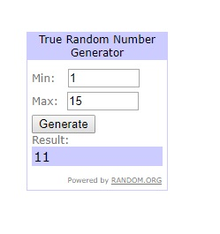 Winner number by ArrtMan