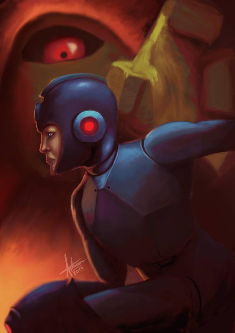 Megaman Fanart by ArrtMan