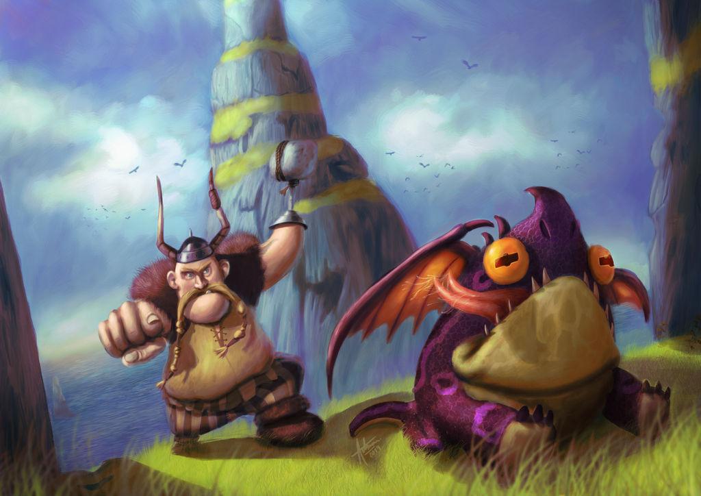 Gobber and Hobgobbler by ArrtMan