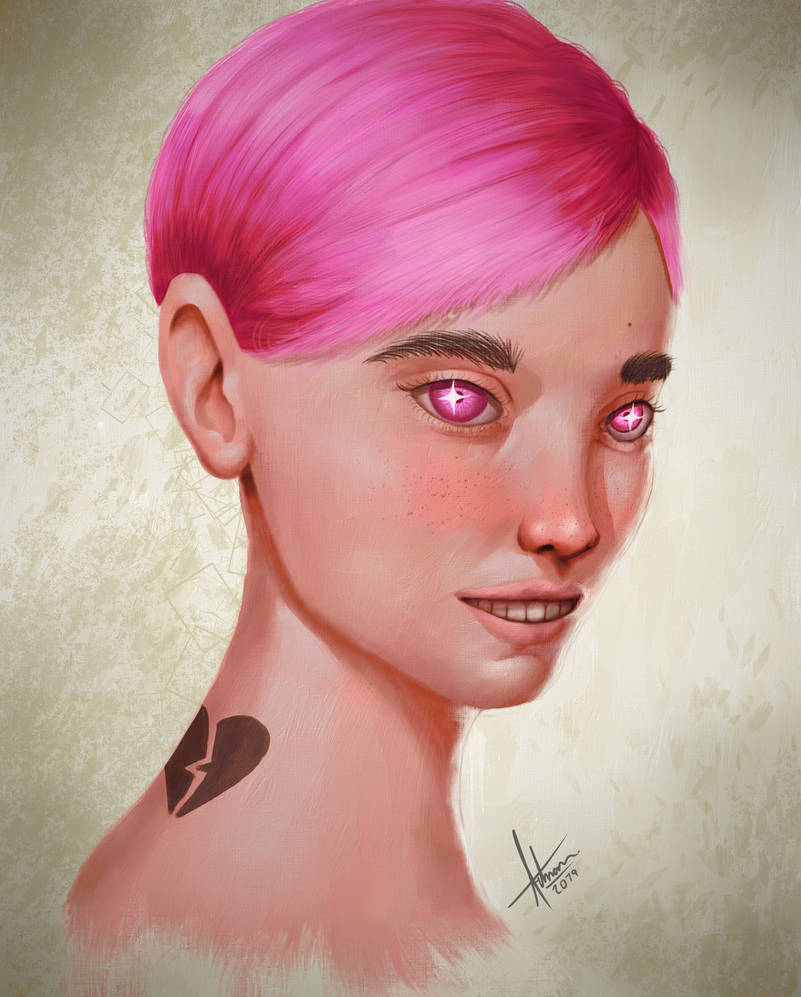 Do this in your style portrait by ArrtMan